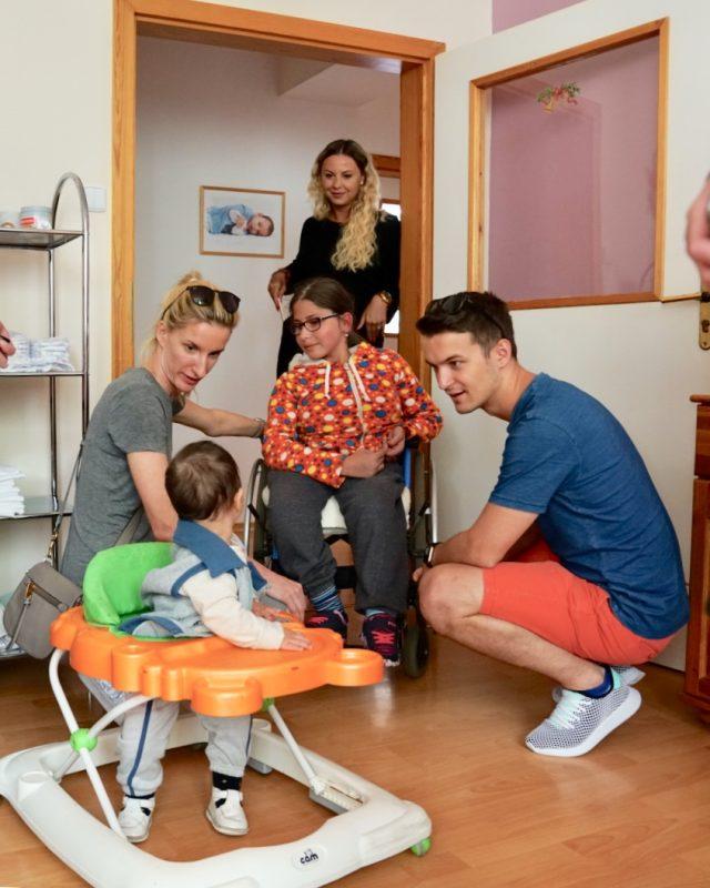 S Adelou a Viktorom v domove Charitas