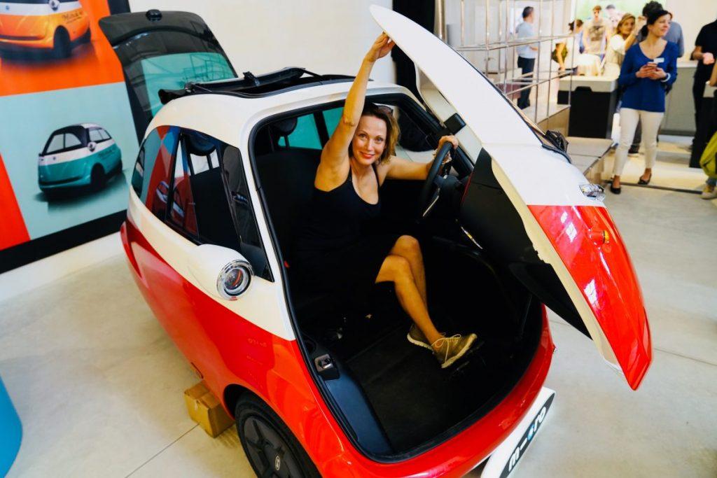 Mini autíčko Microlino