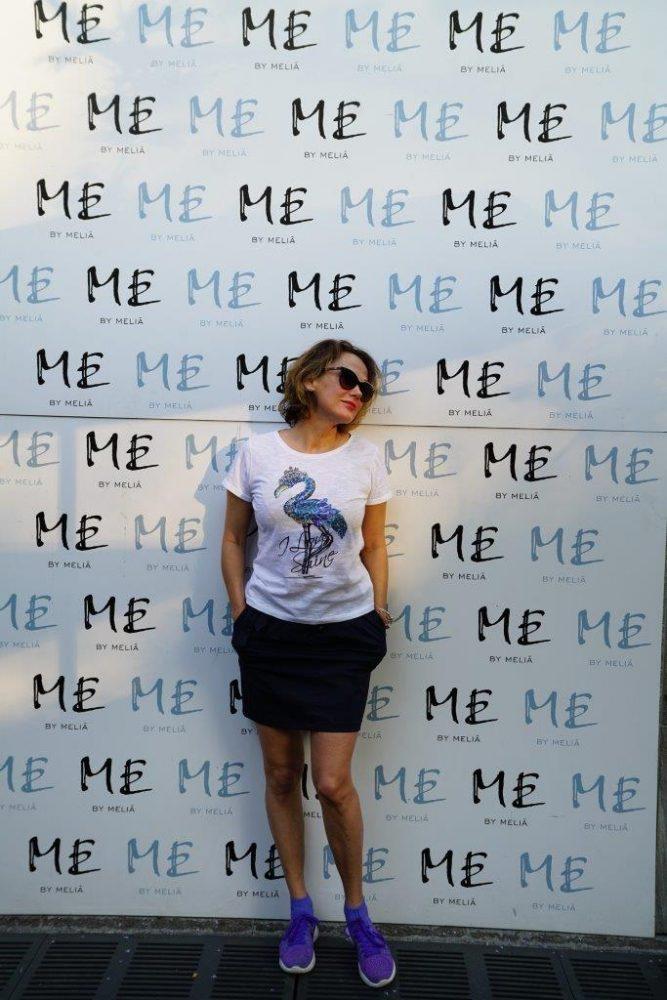 selfie stena v Me Milano by Melia