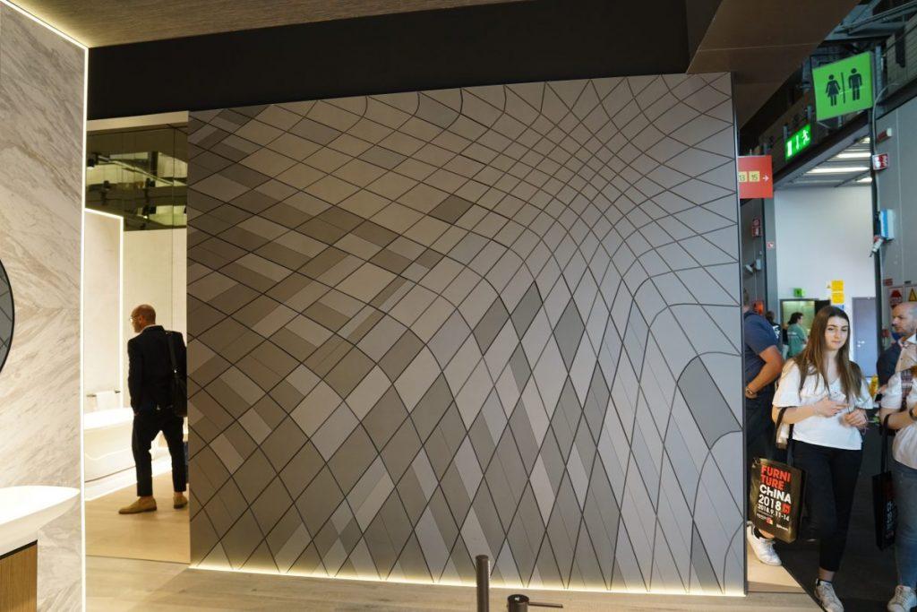 keramické obklady s 3D efektom