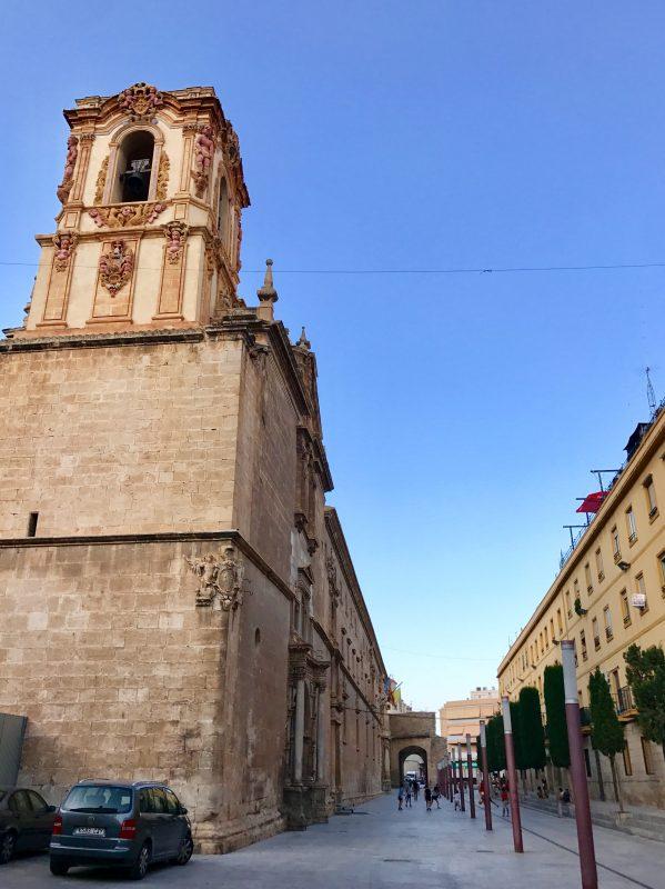 Santo Domingo Orihuela - baroková výzdoba kresťanskej University