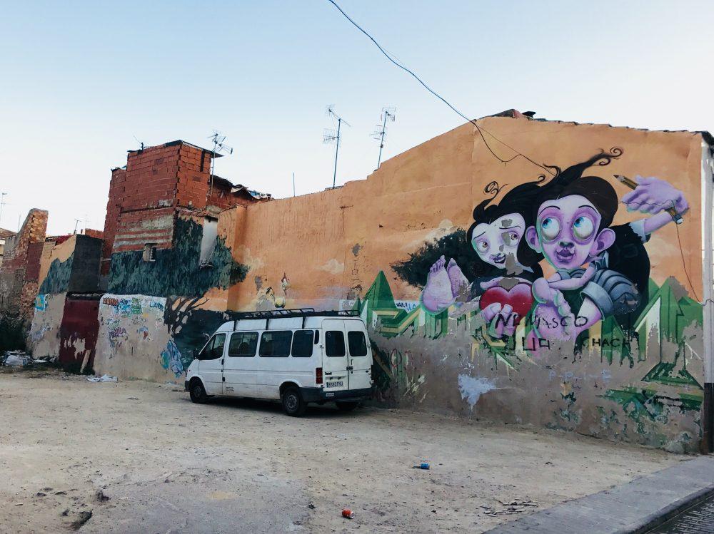 Orihuela žije umením, aj pouličným graffity