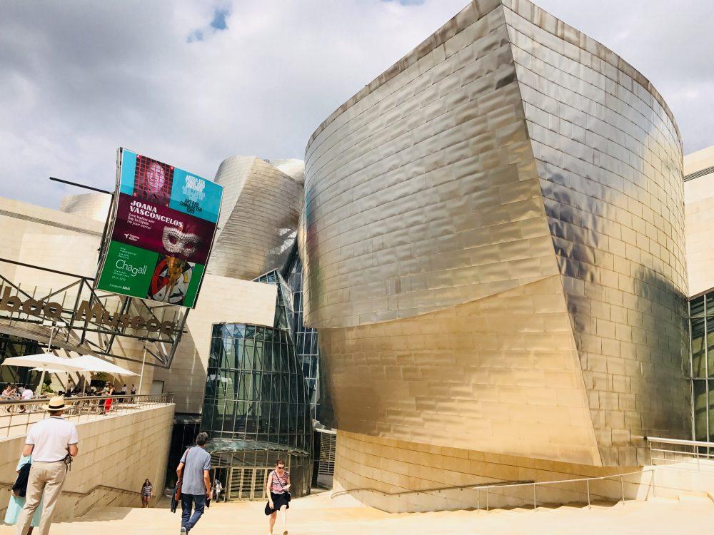 vstup do múzea Gugenheim Bilbao