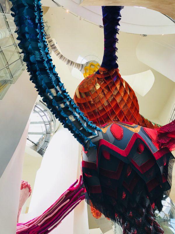 interiér vstupnej haly múzea Guggenheim