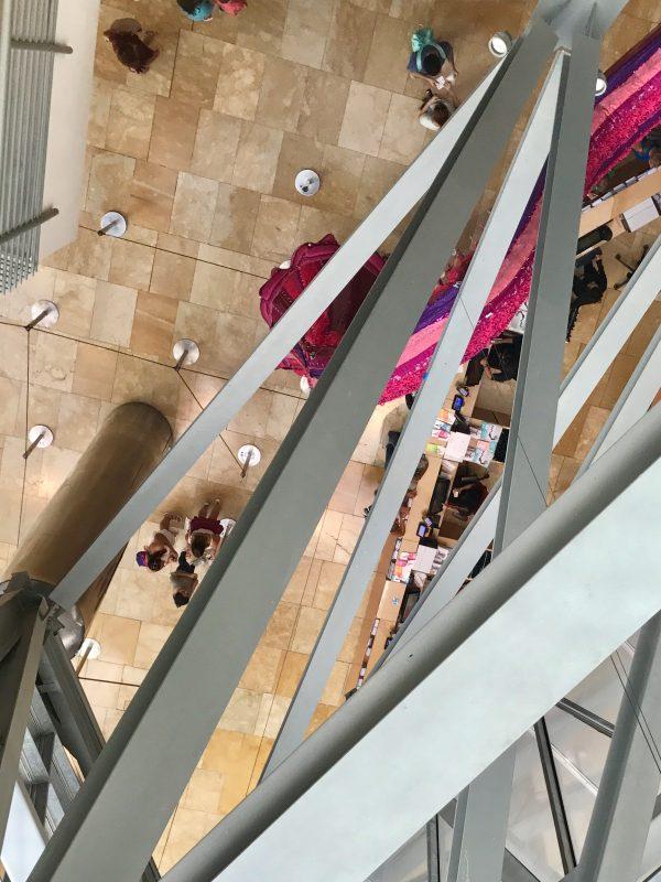 Guggenheim múzeum Bilbao - vstup