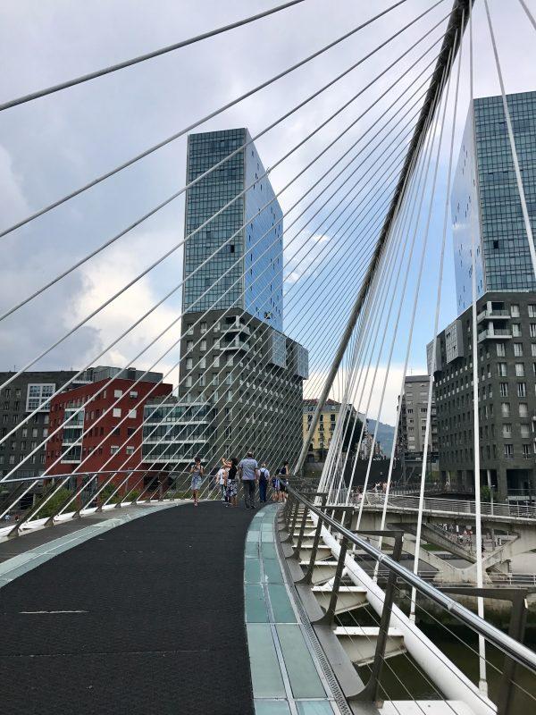 most Zubizuri od arch. Santiago Calatrava