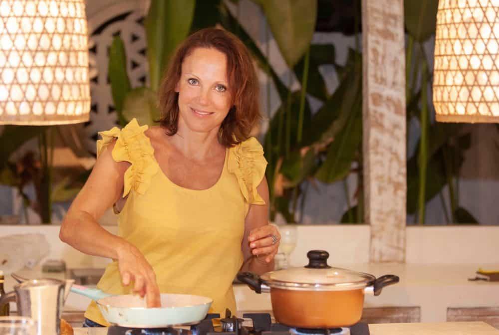 v balijskej kuchyni